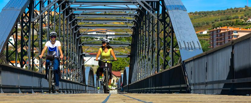 Biking the Douro Valley