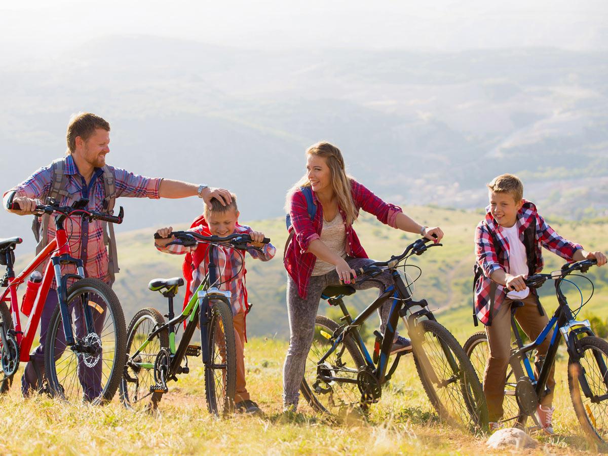 Family bike tour in beautiful Minho Portugal
