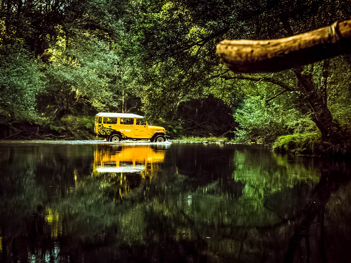 Jeep rio âncora adventure tour family bike riding tour Minho Portugal