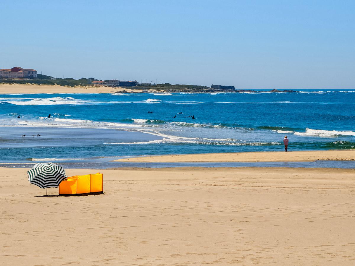 Viana do Castelo beautiful beach ocean surfing