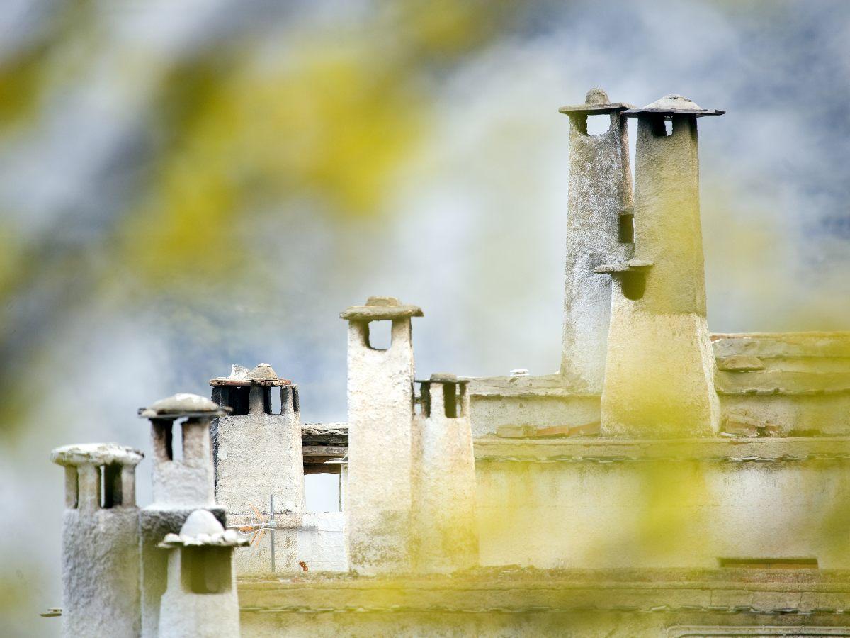 Alpujarras Chimneys in spain