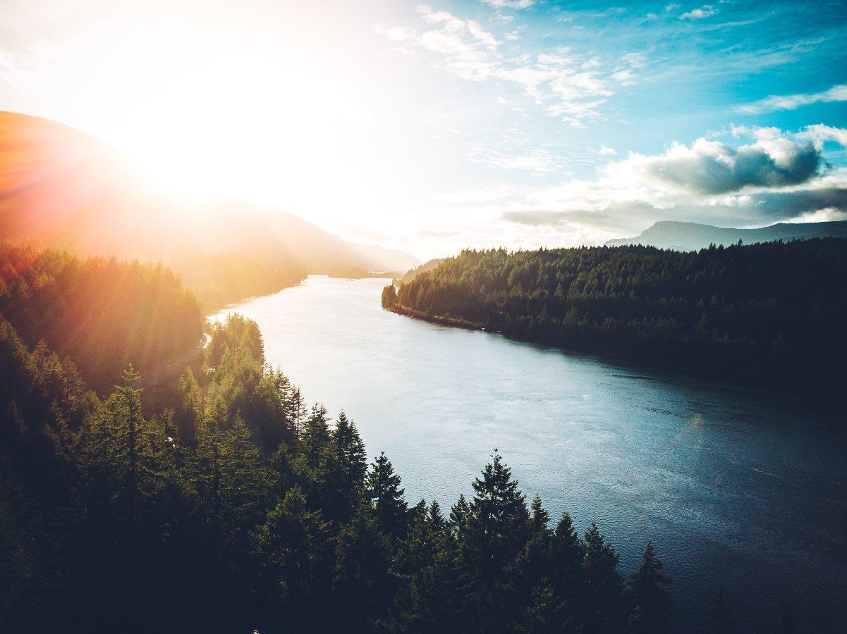 Cascade Locks in Oregon