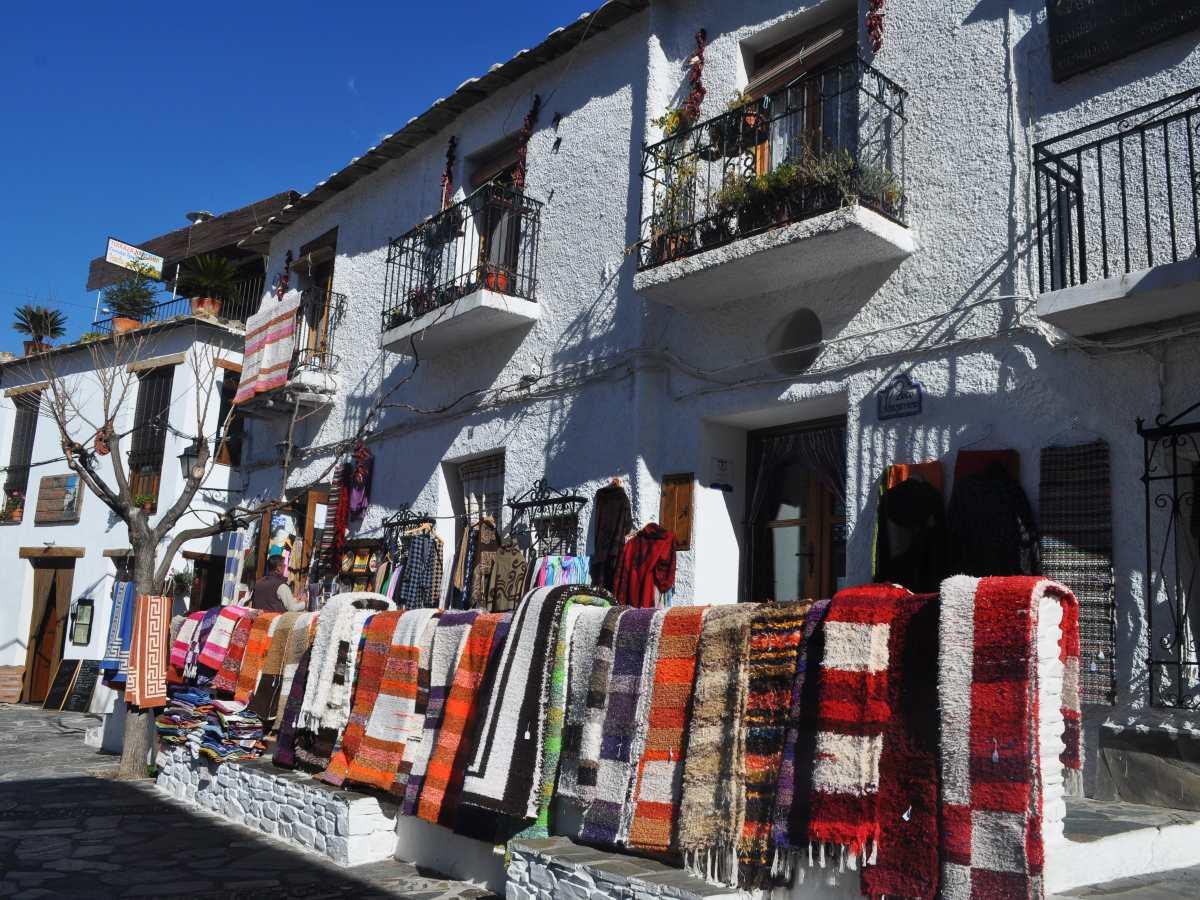 Colorful Alpujarras streets