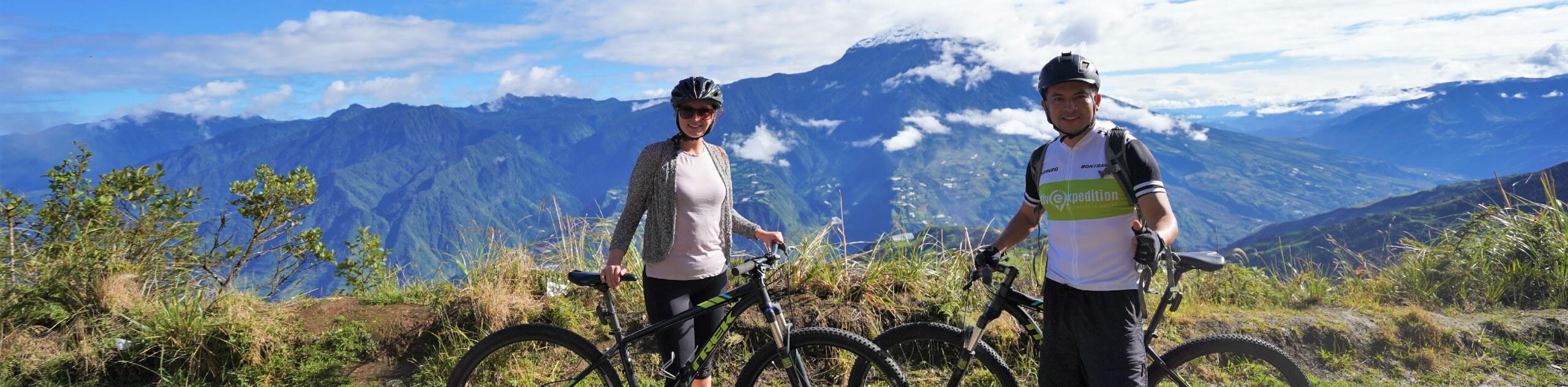 Amazing biking tour through the Ecuador Rainforest