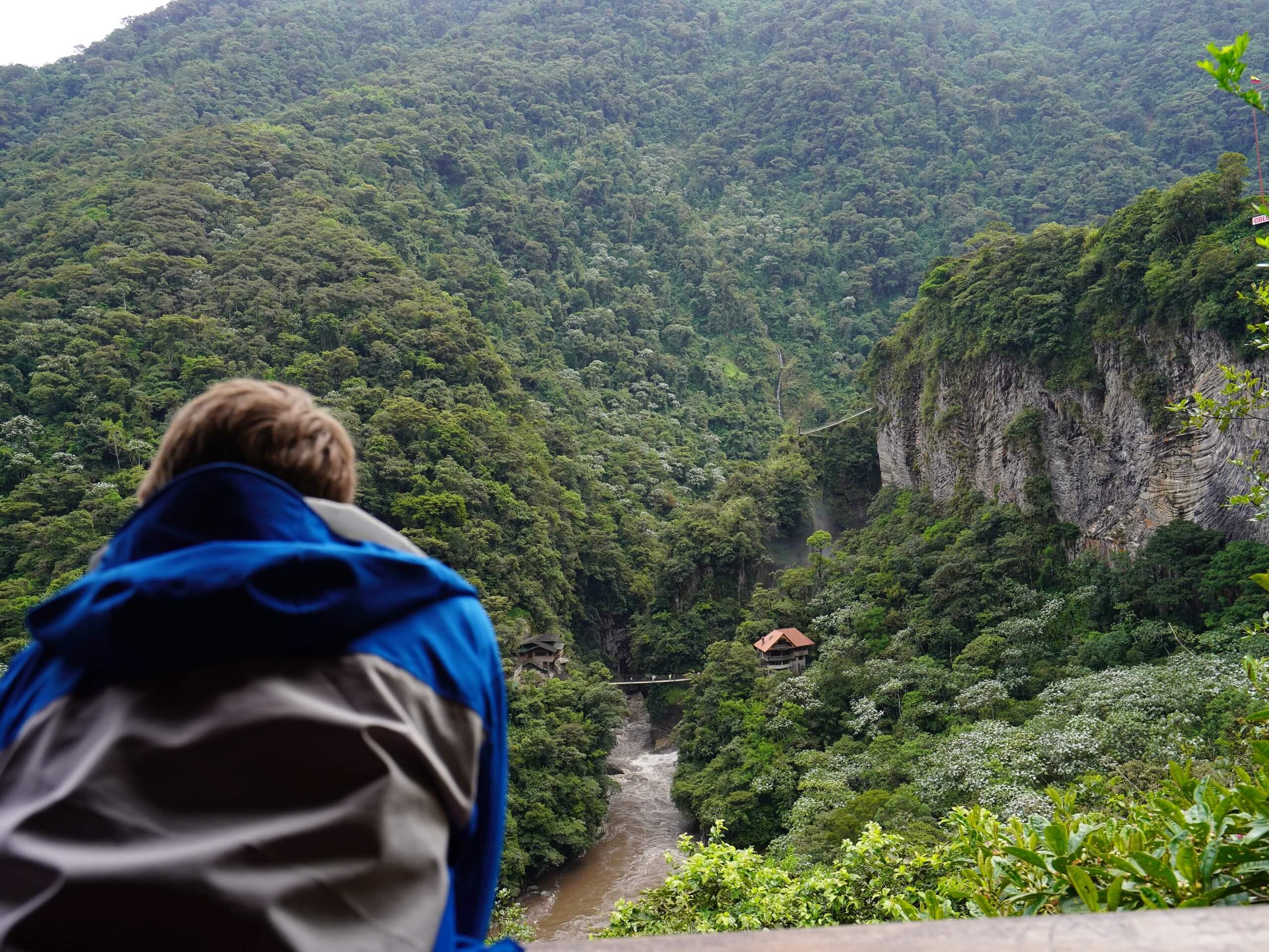 Resting spot along the Amazon Rainforest biking route