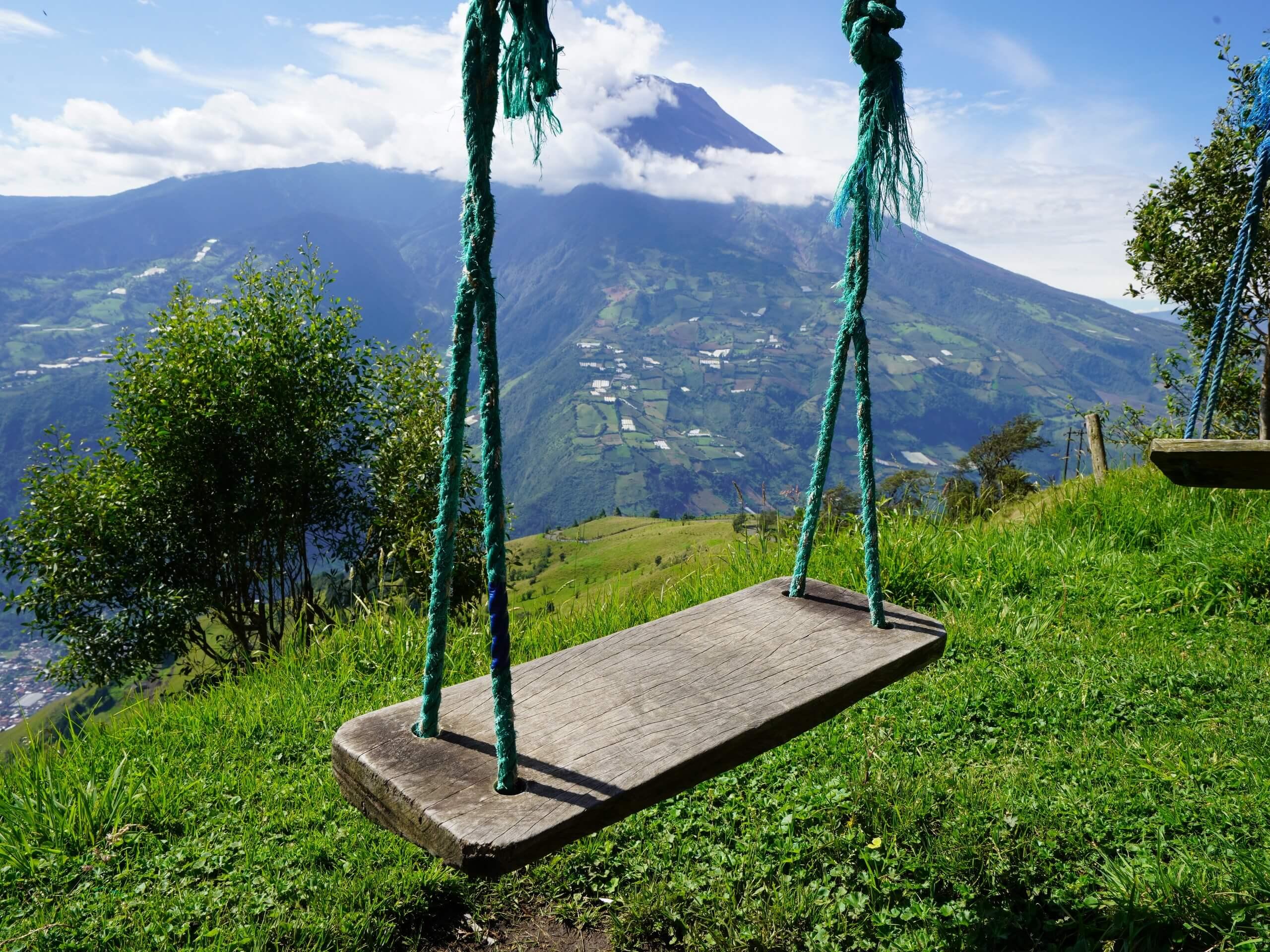 Swing in Banos, Ecuador