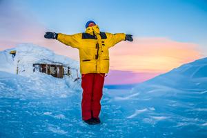 Vatnajokull Glacier Cross-Country Ski Crossing