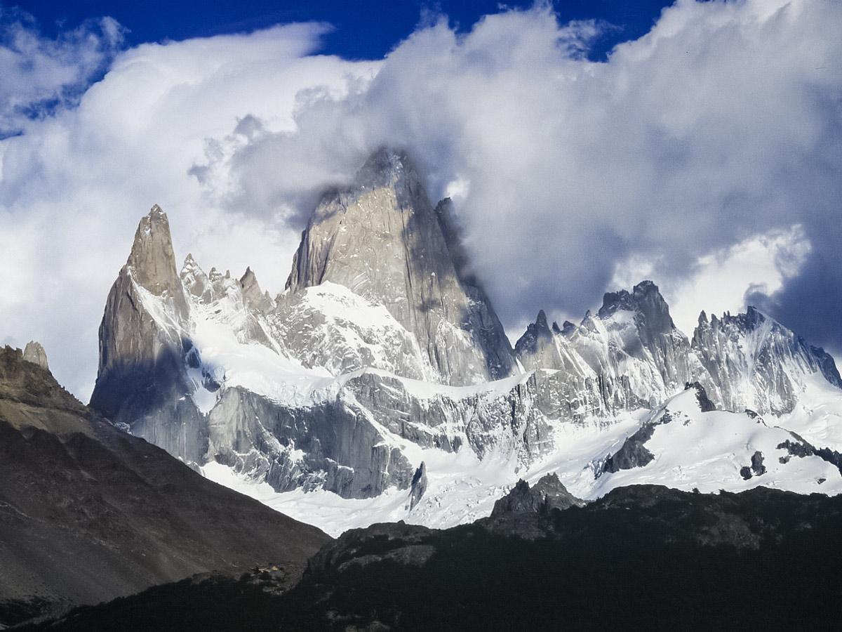 Fitz Roy exploring Chile patagonia