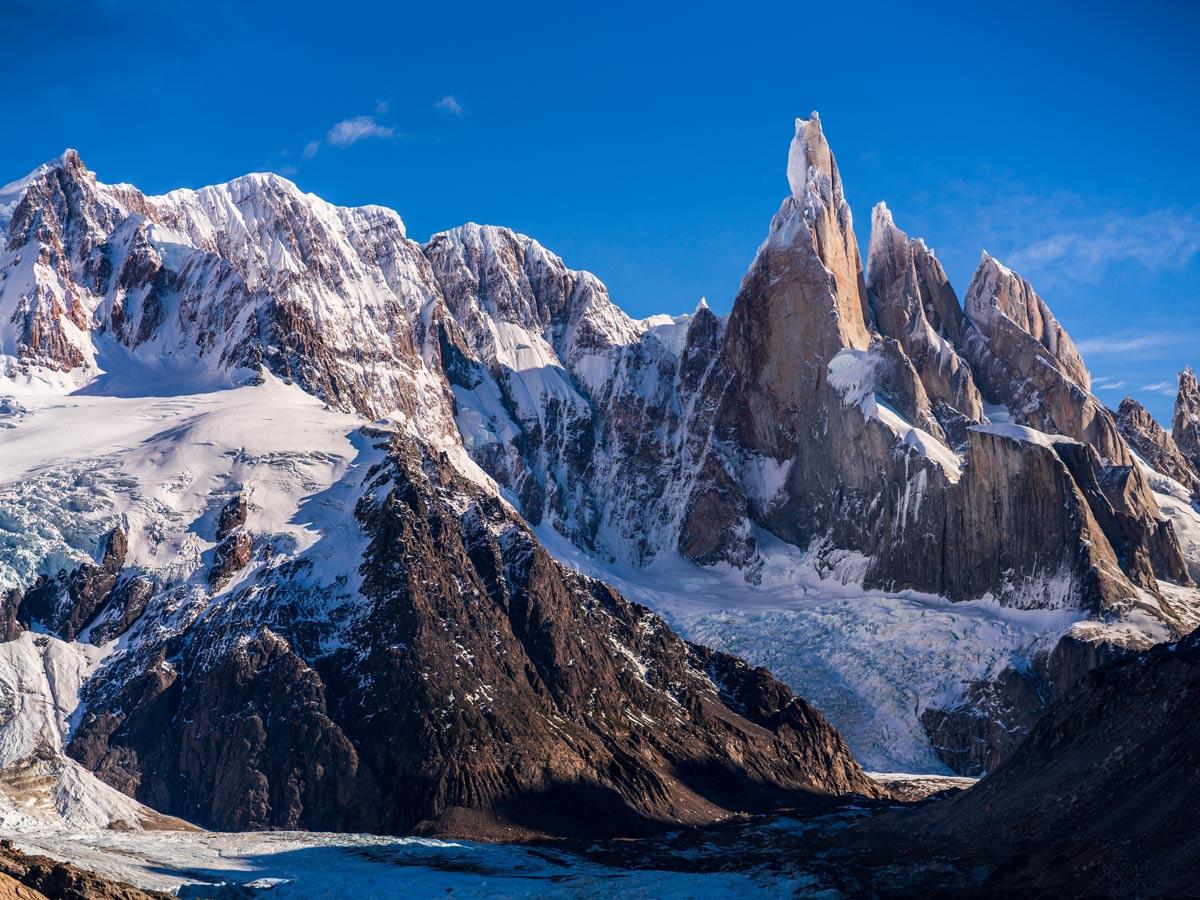 Cerro Torre exploring Chile patagonia