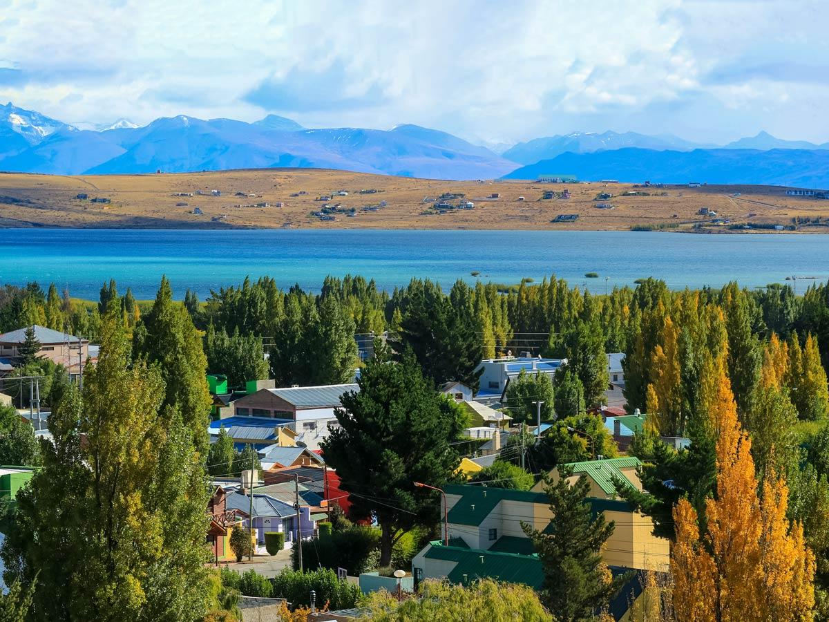 Calafate town homes Valdez Patagonia Chile adventure tour