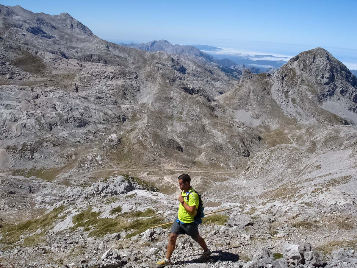 Descent from San Carlos Peak