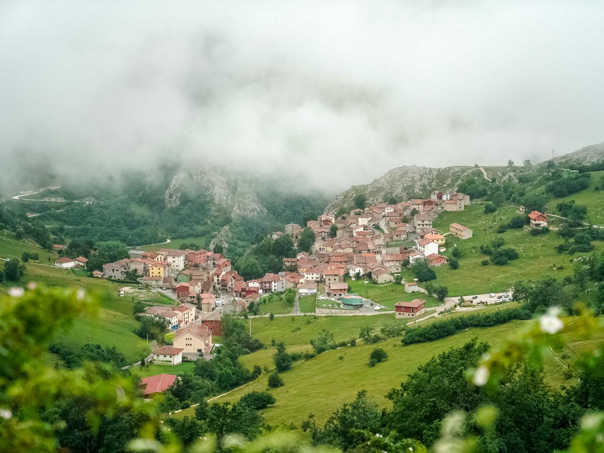 Walking hiking mountains villages Picos de Europa Spain