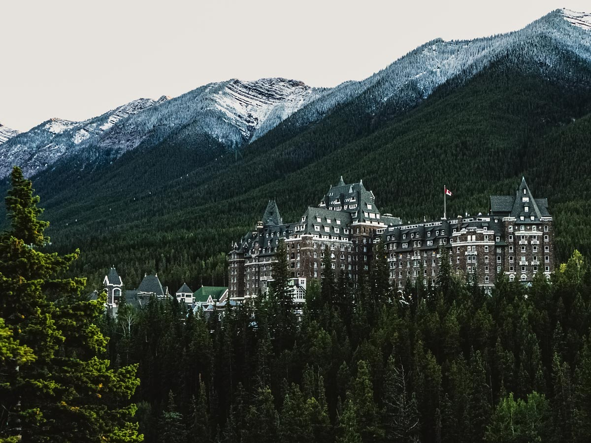 Surprise corner Banff Springs hotel Banff National Park Canada