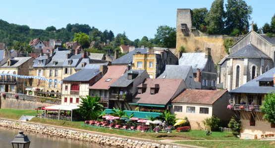 Perigord village in La Dordogne