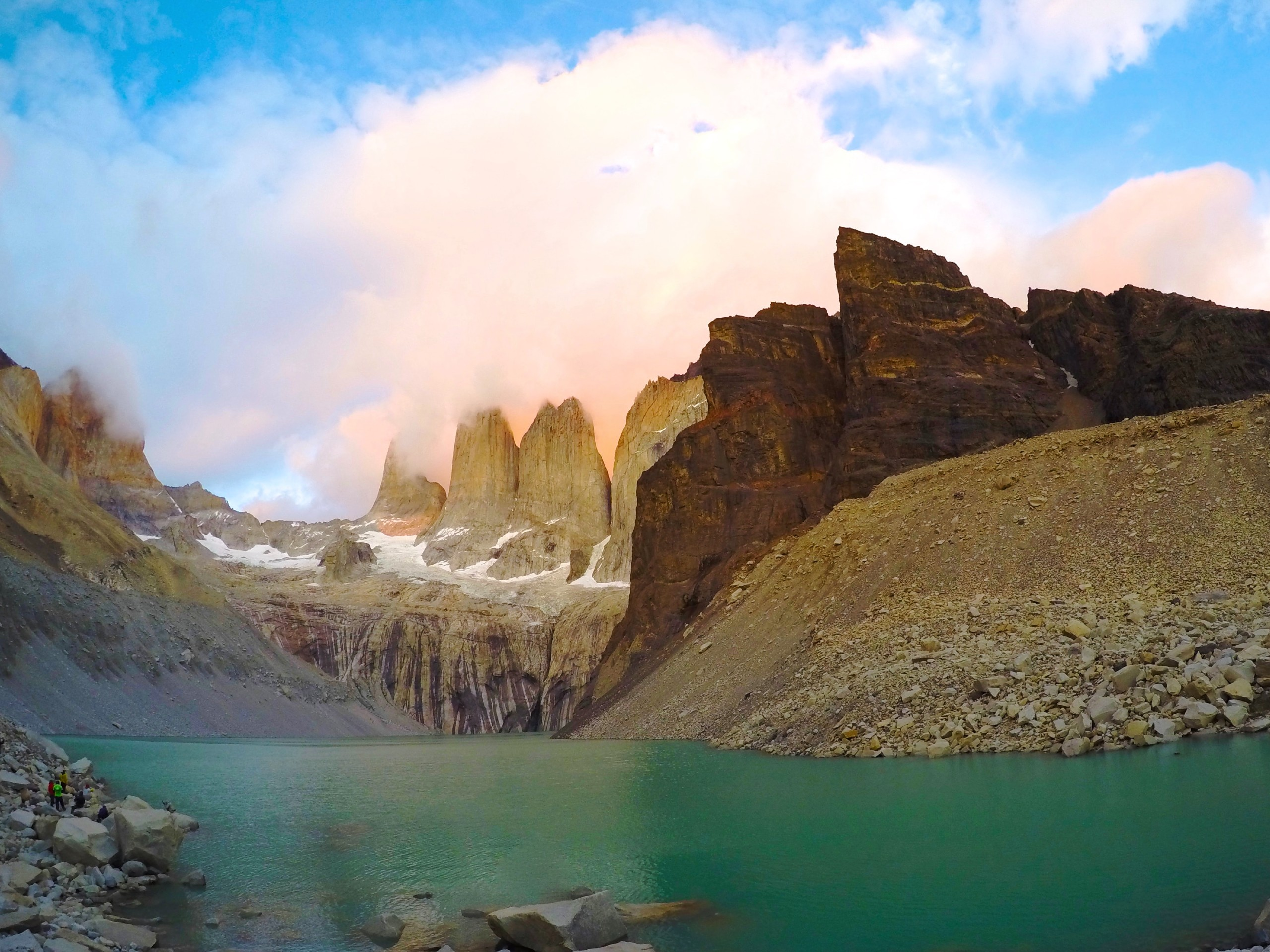 Stunning views of Paine Grande (Torres del Paine)
