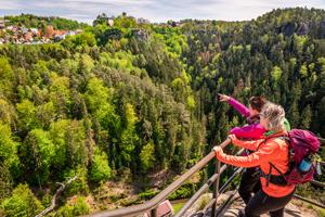 Elbe Sandstone Mountains Circular Walking Tour