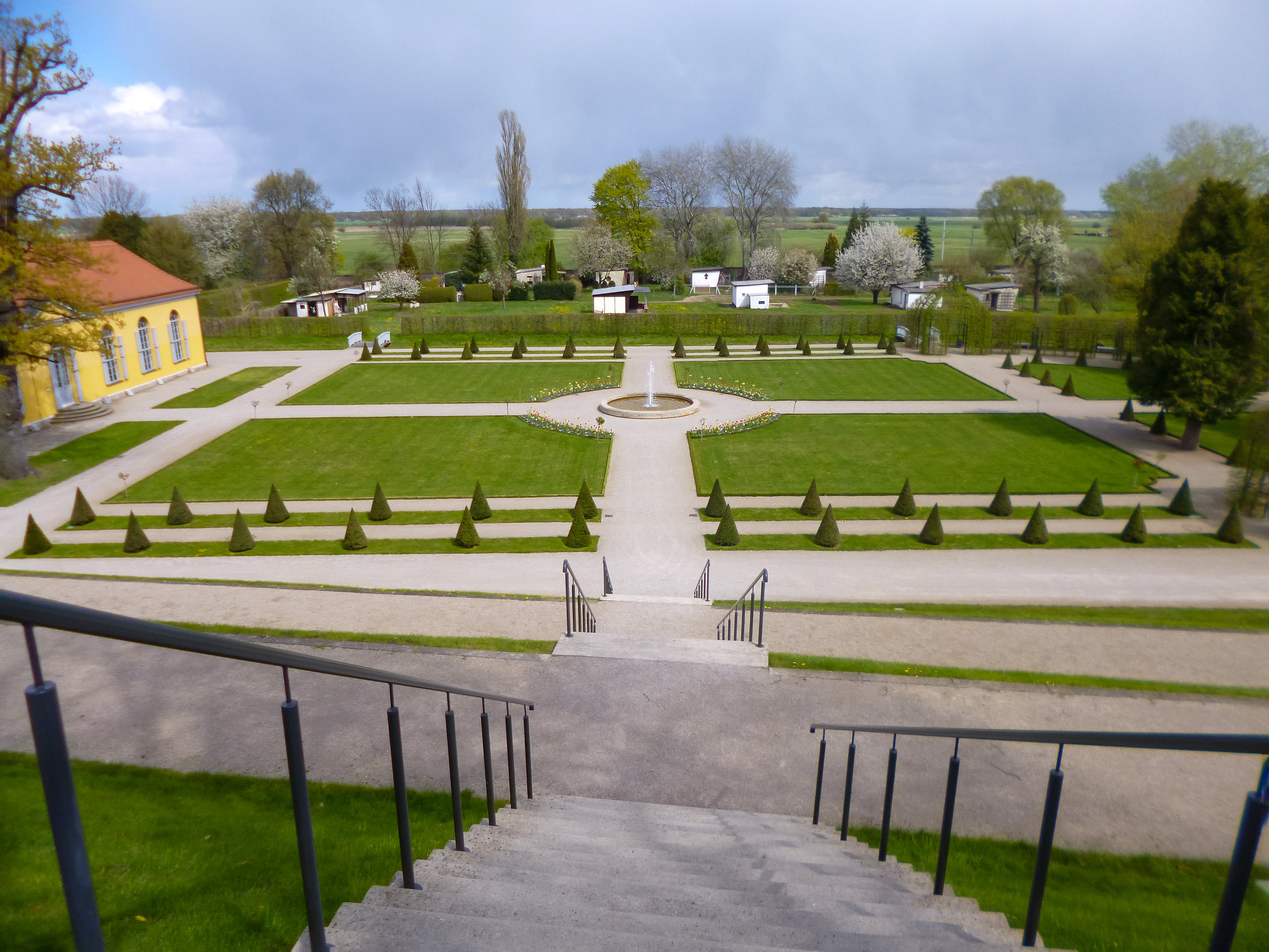 Neuzelle Abbey on the Oder Neisse cycle path Germany