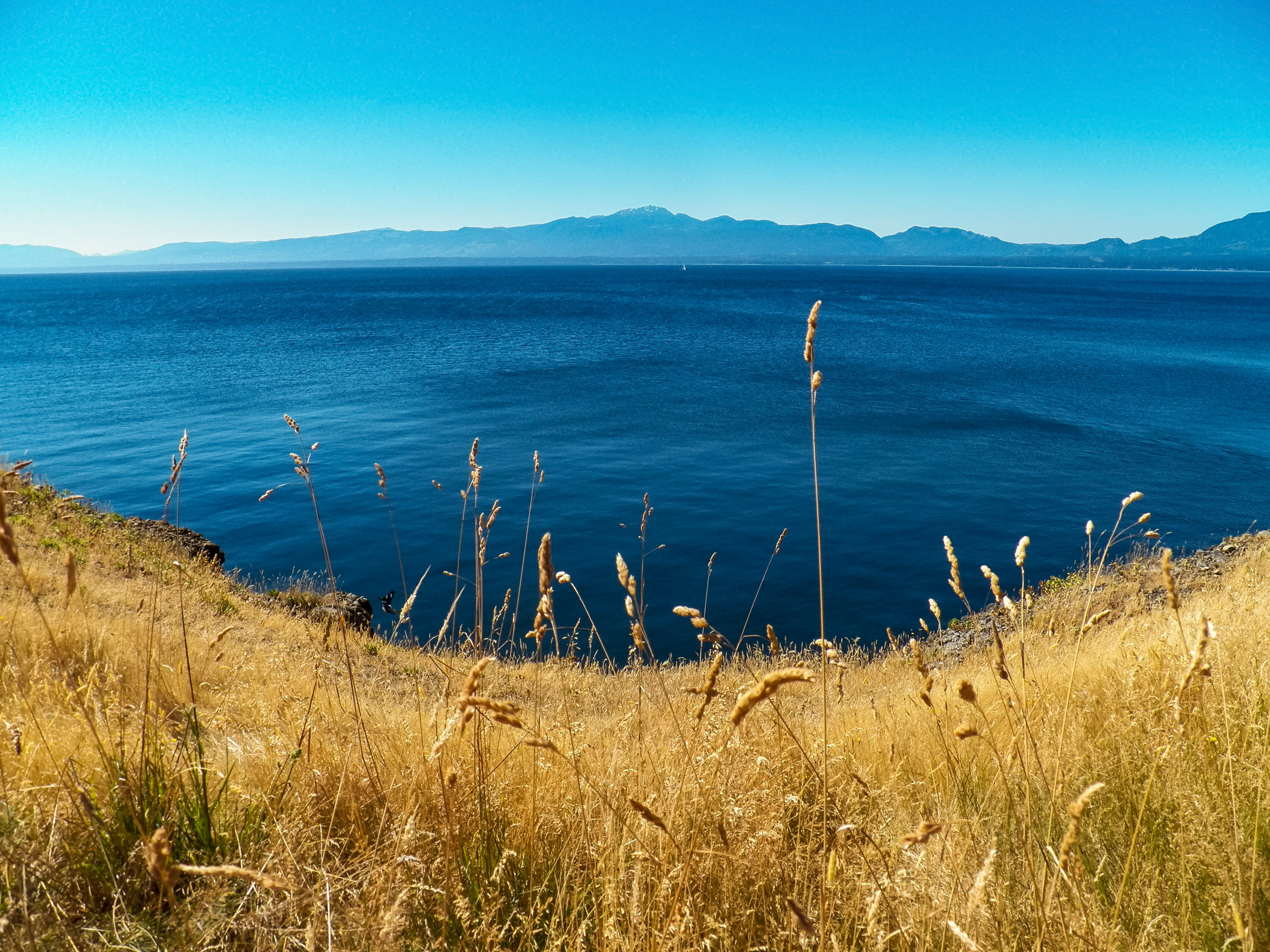 Hornby island Pacific Ocean islands off the west coast Vancouver island BC British Columbia
