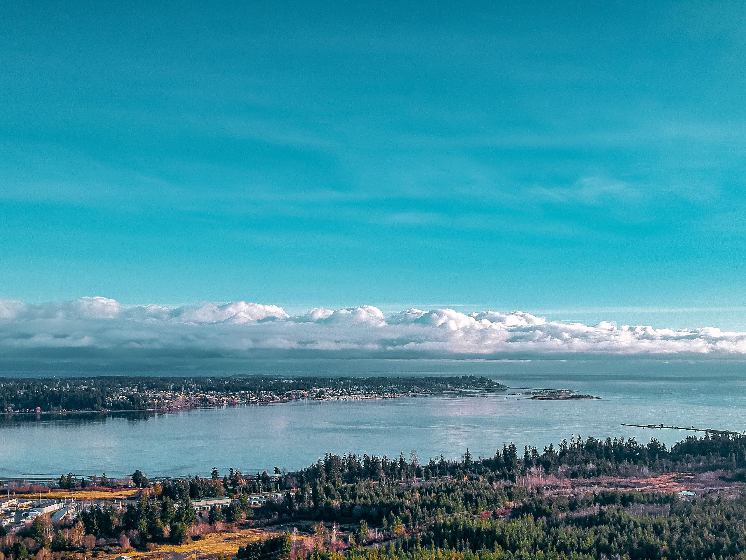 Courtenay on Vancouver Island British Columbia Canada