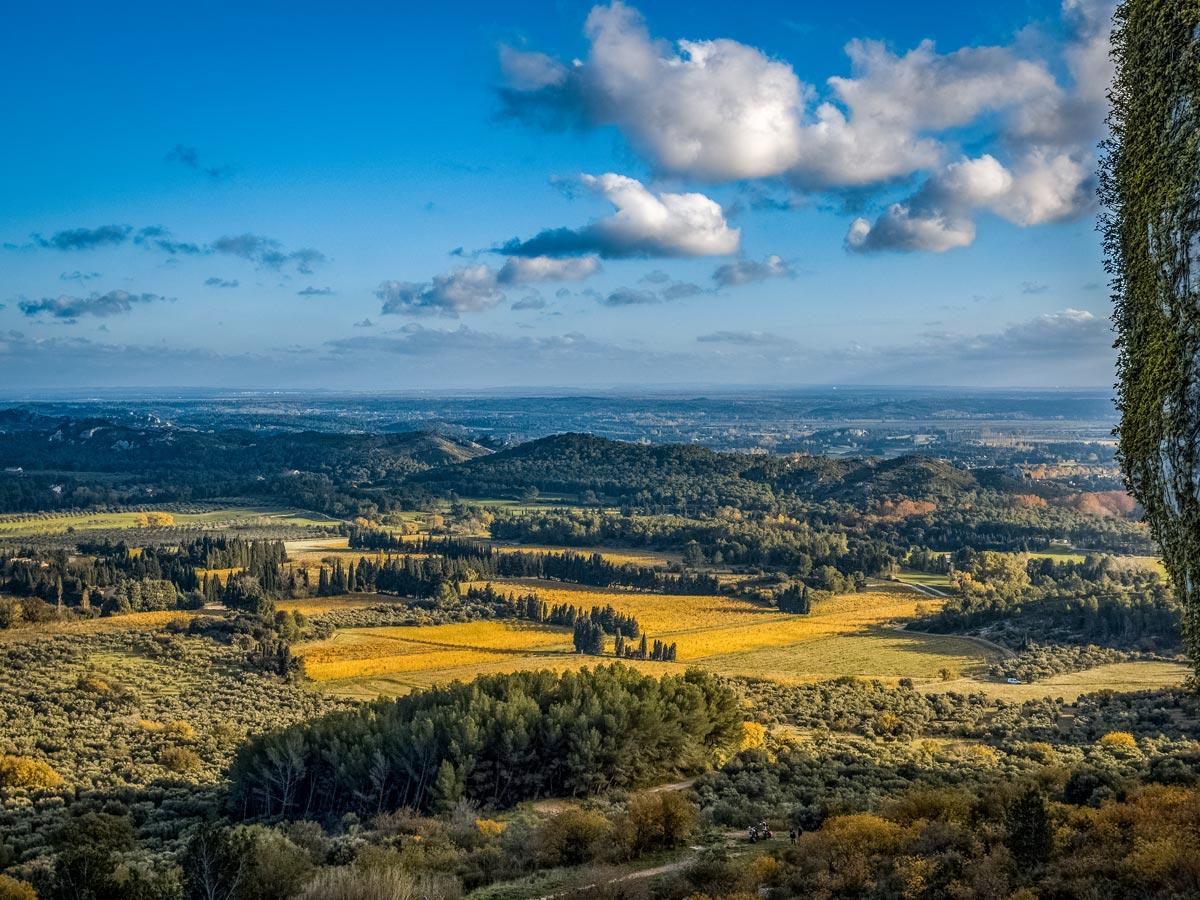 Les Baux de Provence exploring Provence Alpilles France