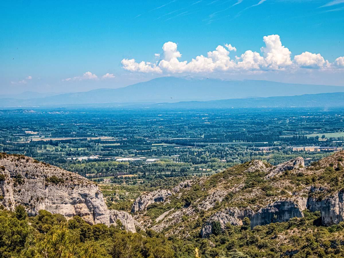 Saint Remy de Provence exploring Provence Alpilles France