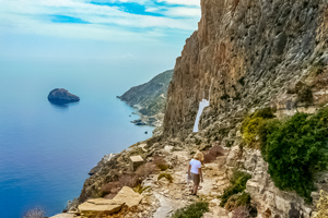 Amorgos Island Walking Tour
