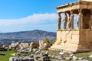 Walking Athens and Kea Island Tour