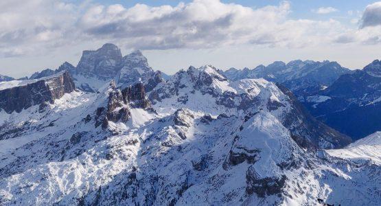 Cross Country Ski the Dolomites