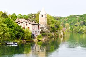 Rhône River by Bike: Seyssel to Lyon