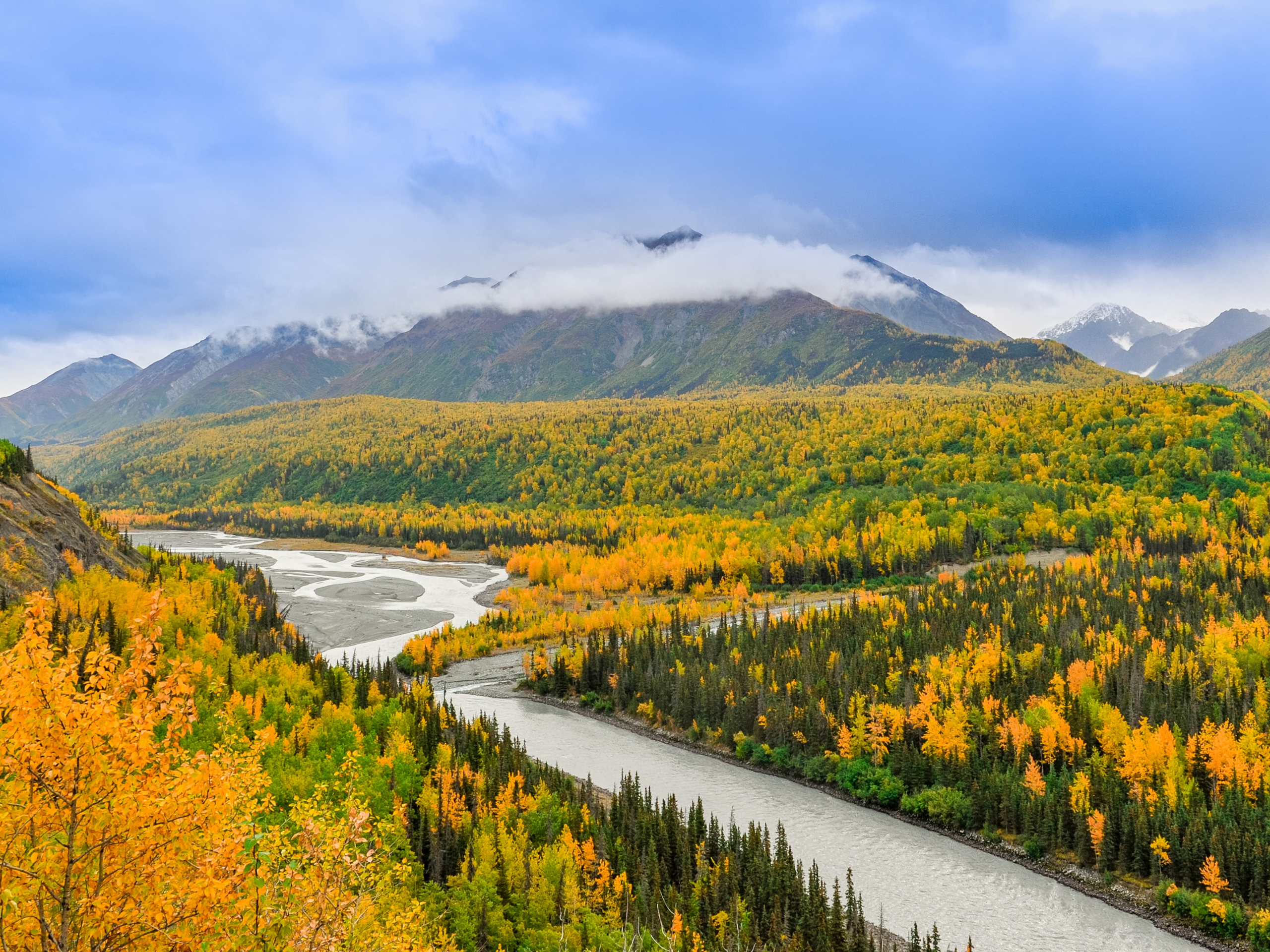 Anchorage during the Autumn