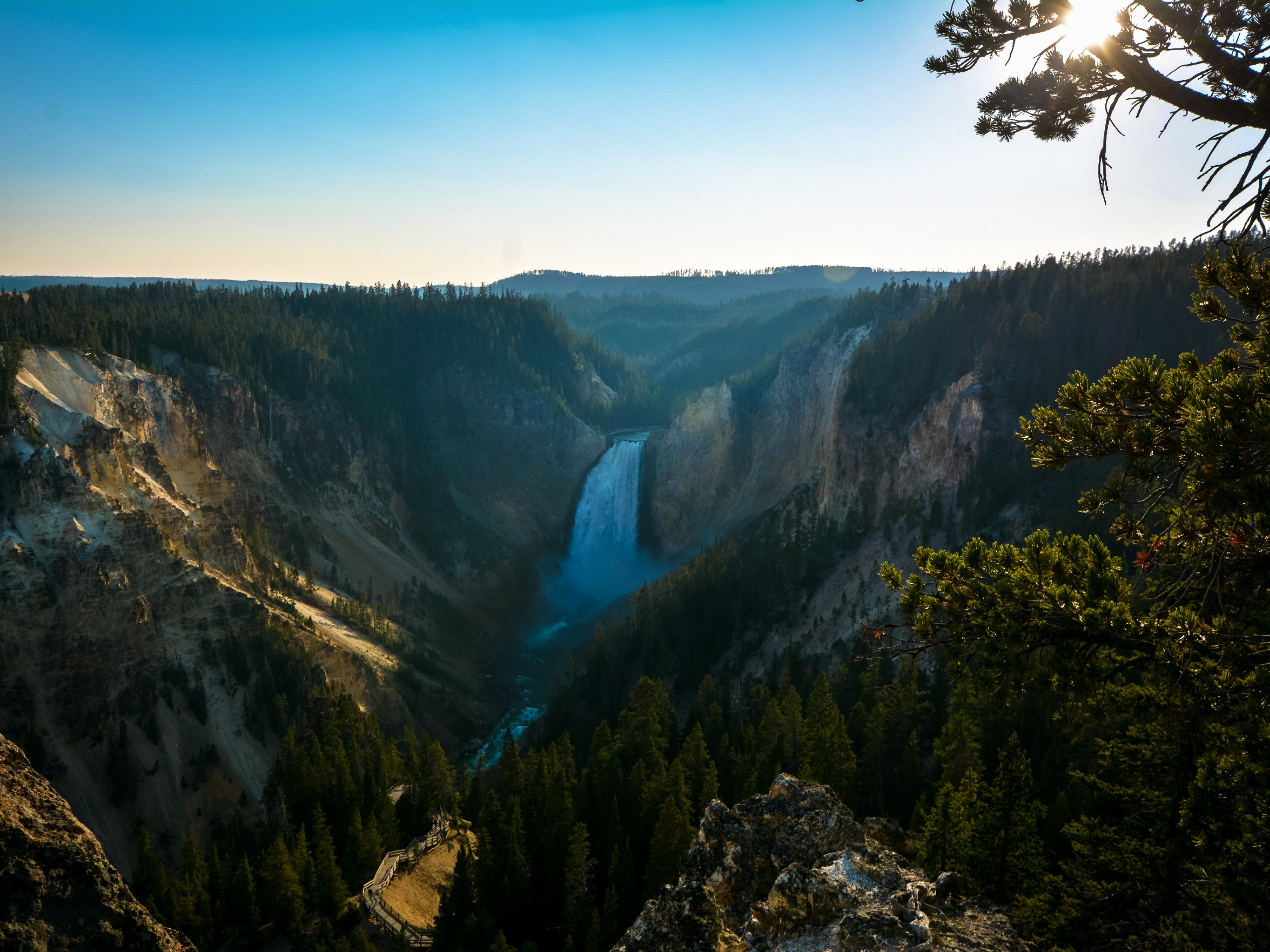 Artists Point in Yellowstone