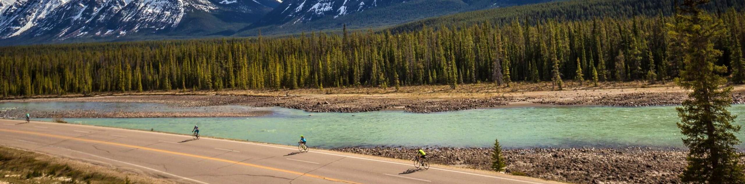 Jasper to Highwood Pass Cycling Tour