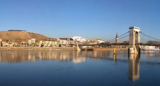 Full Via Rhôna Cycling Route: Geneva to Orange