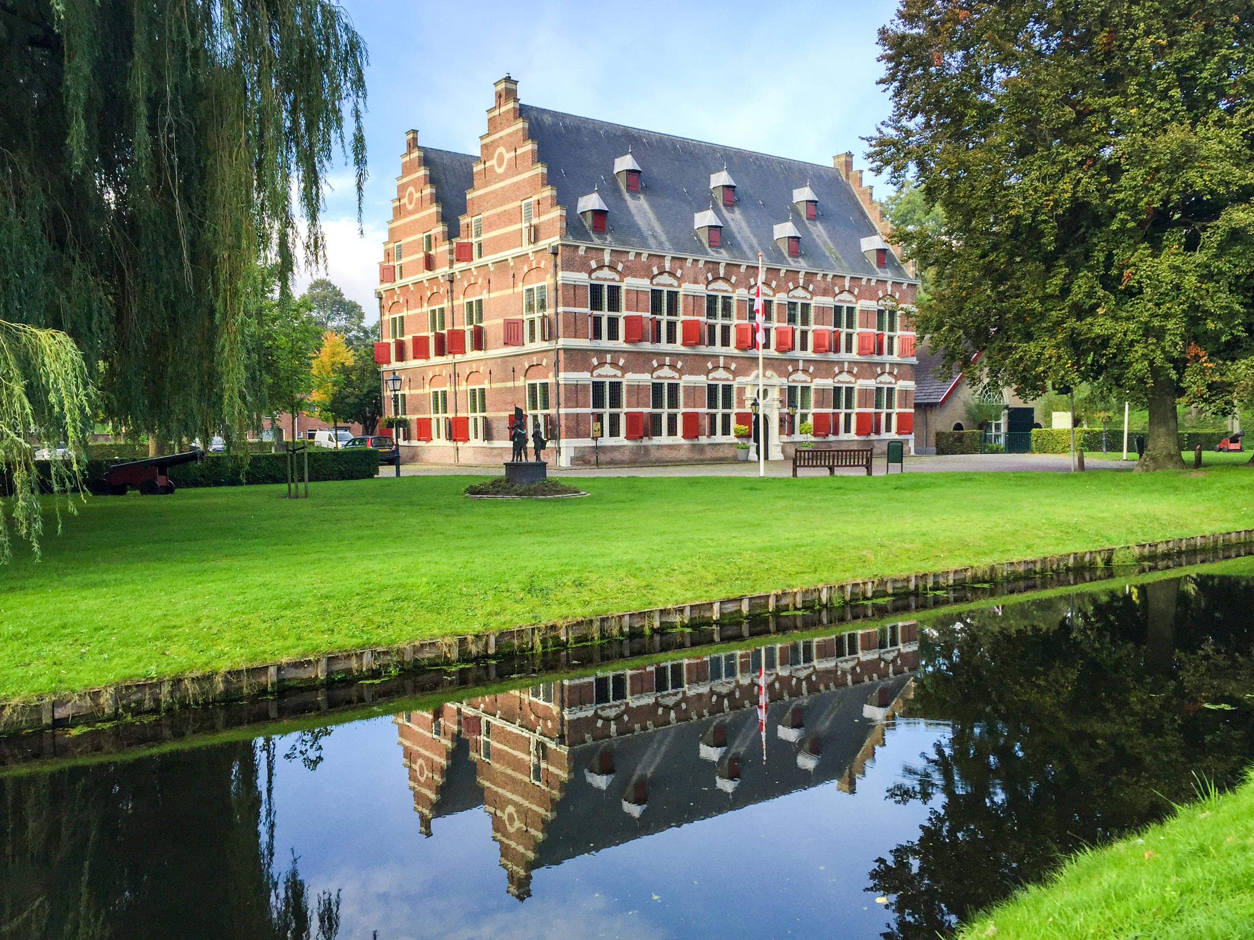 Beautiful Administrative building in Willemstad