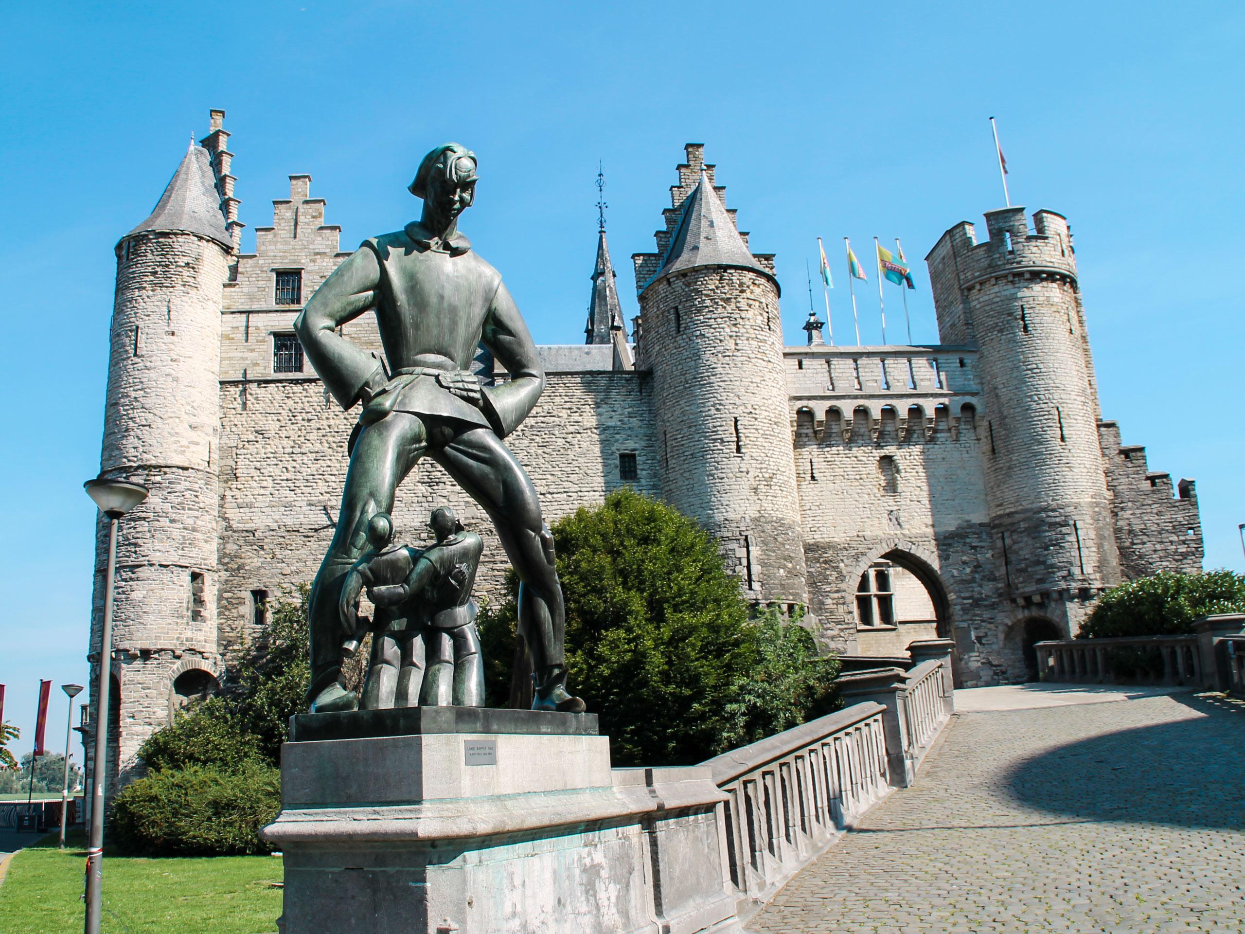 Het Steen in Antwerp