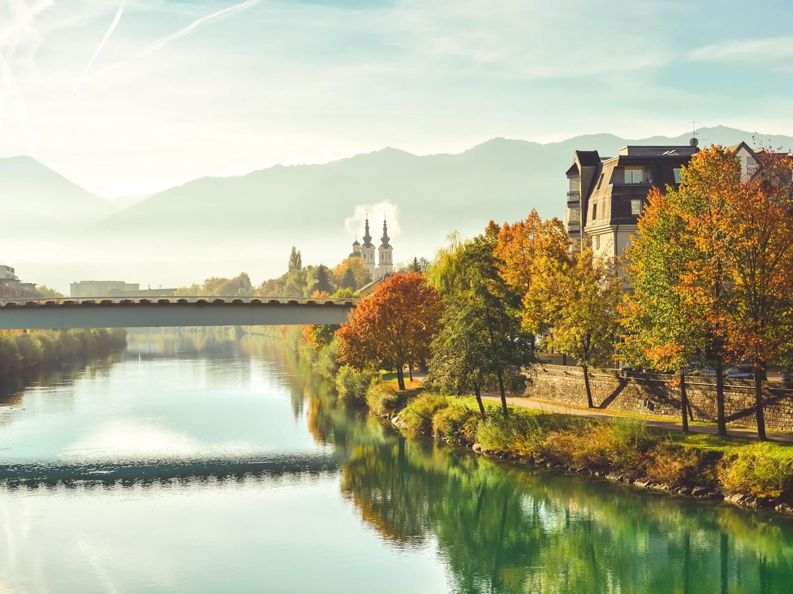 Beautiful Villach landscape