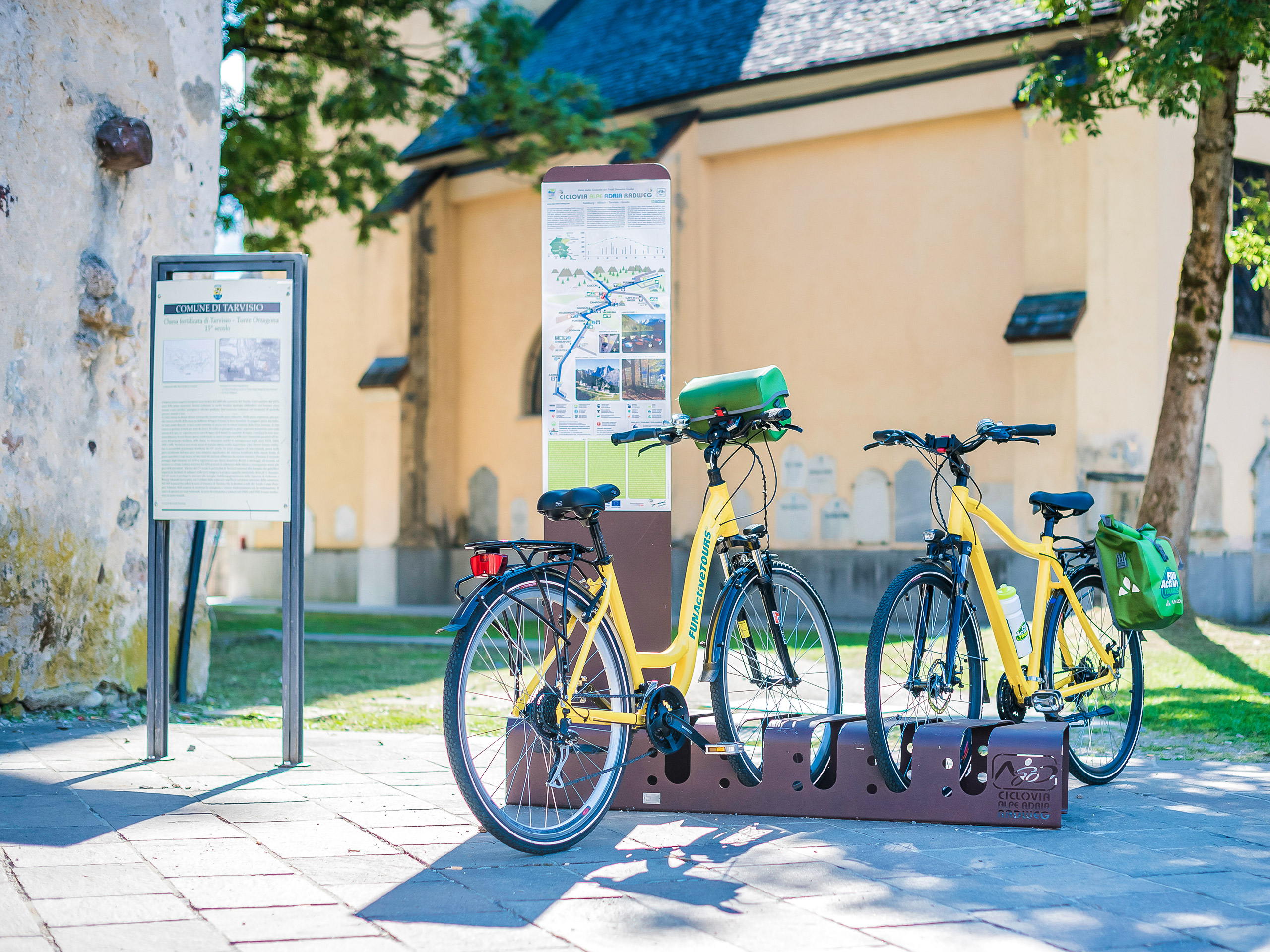 Tarvisio Bicycles and Route