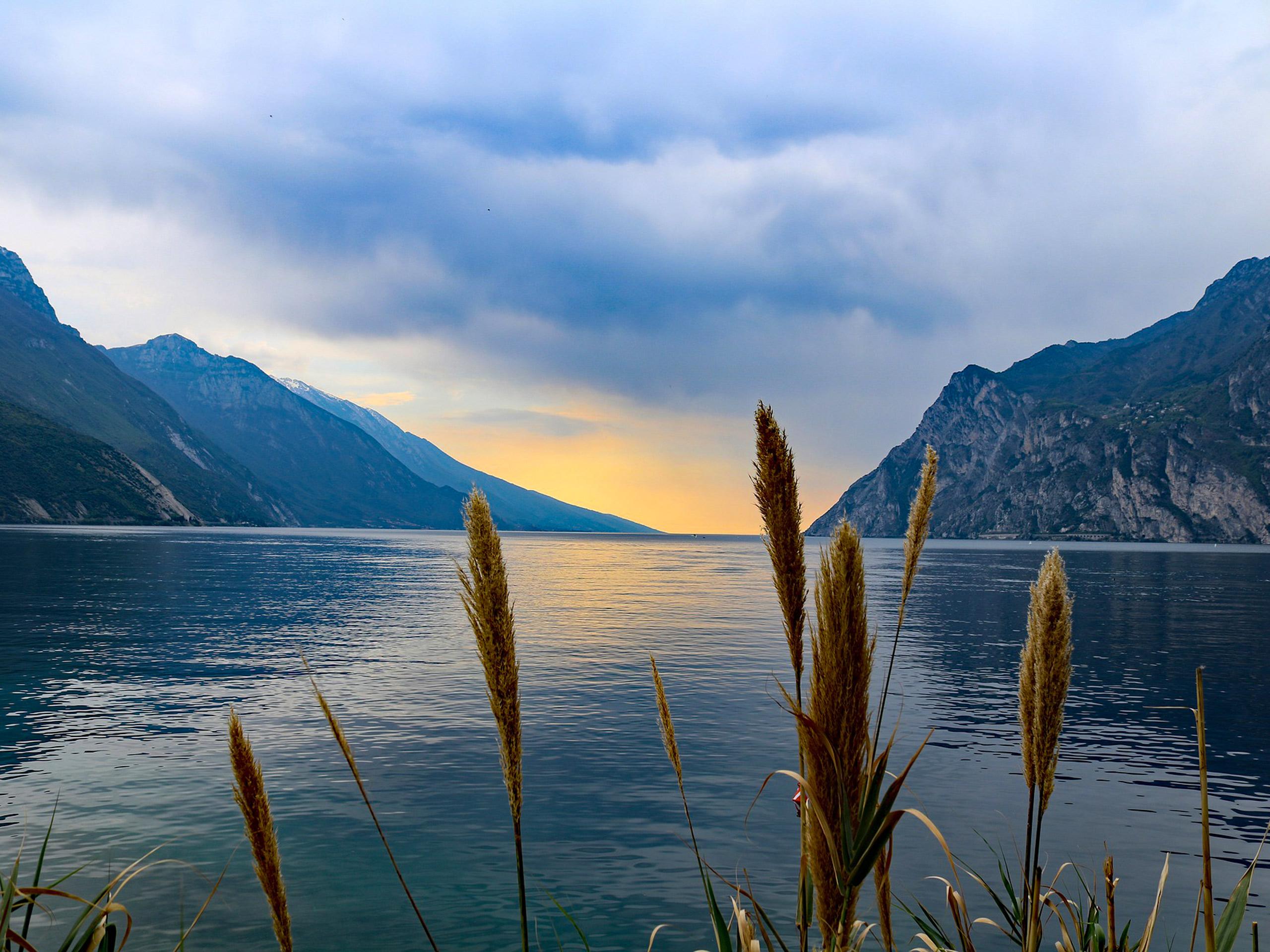 Sunrise on the Lake Garda