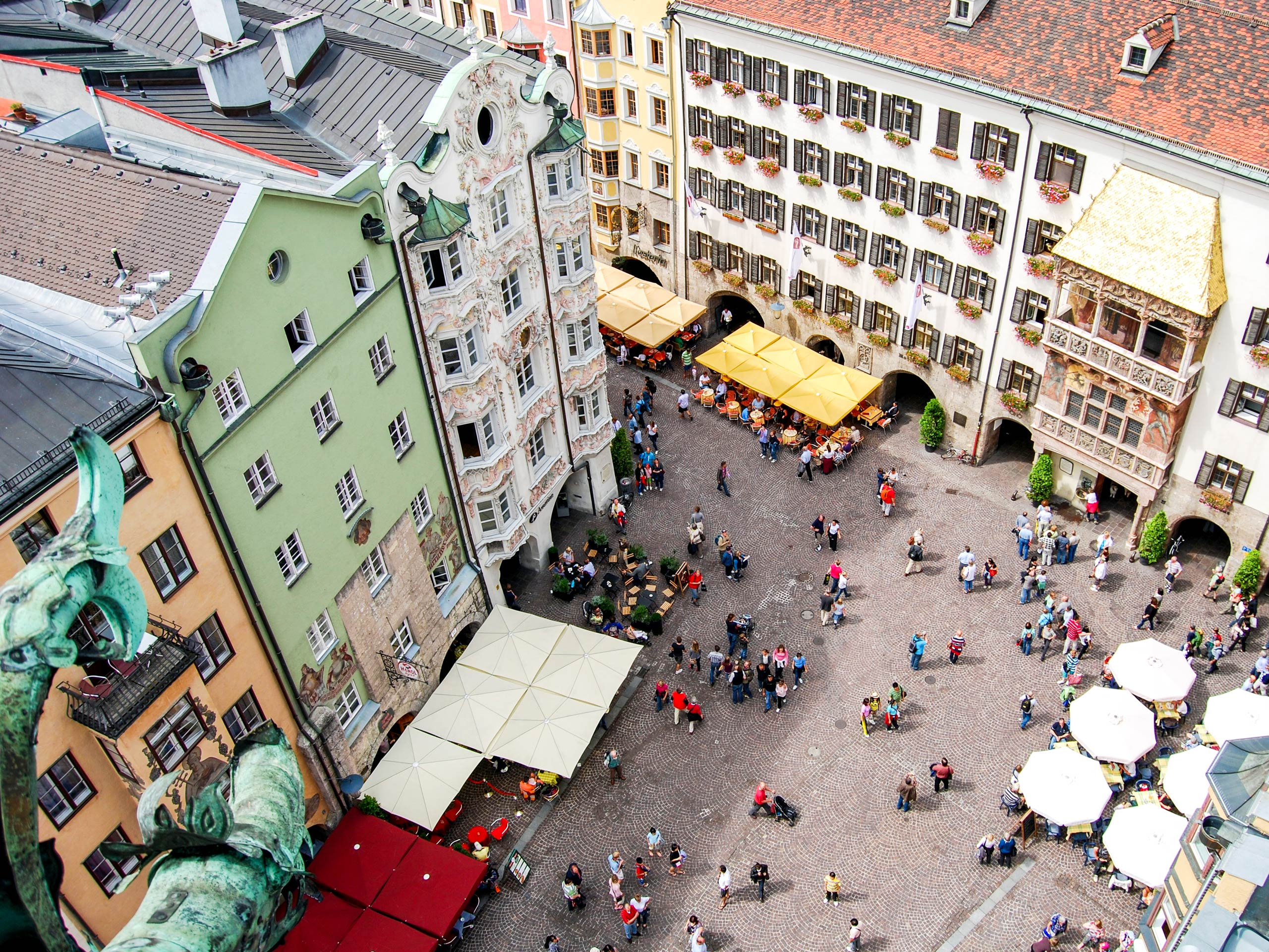 Innsbruck Squaere view
