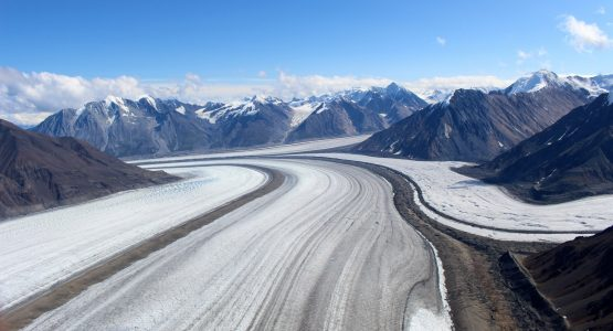 Winter in Yukon's Kluane National Park