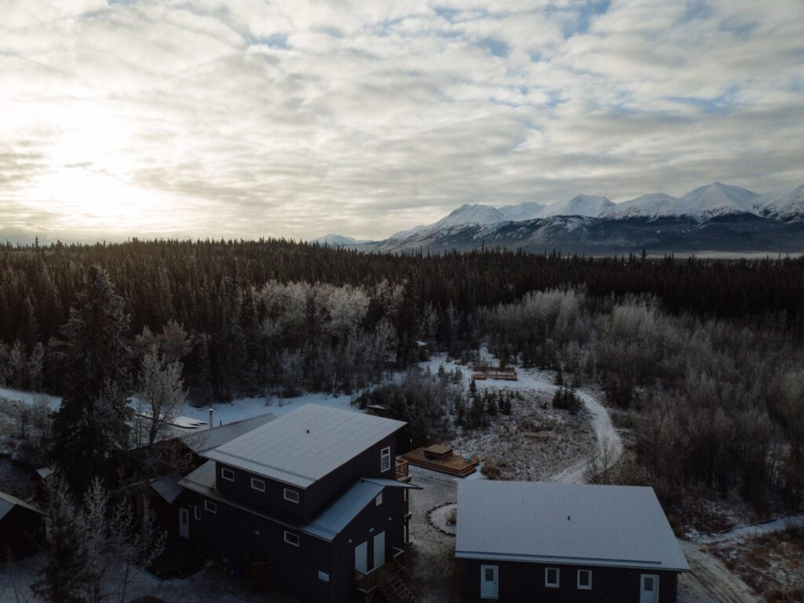 Cozy lodge in Yukon
