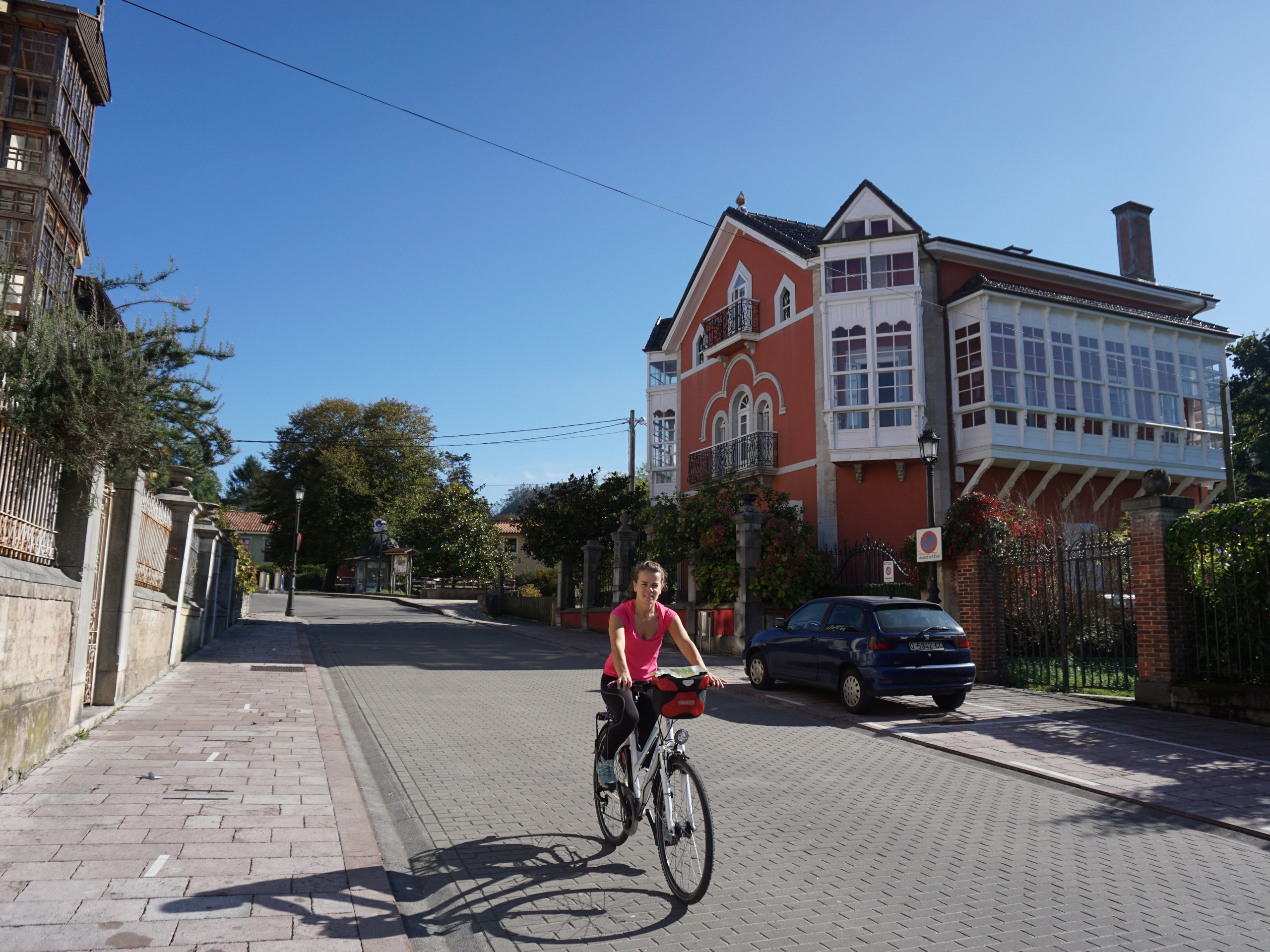 Cyclist at Asturias