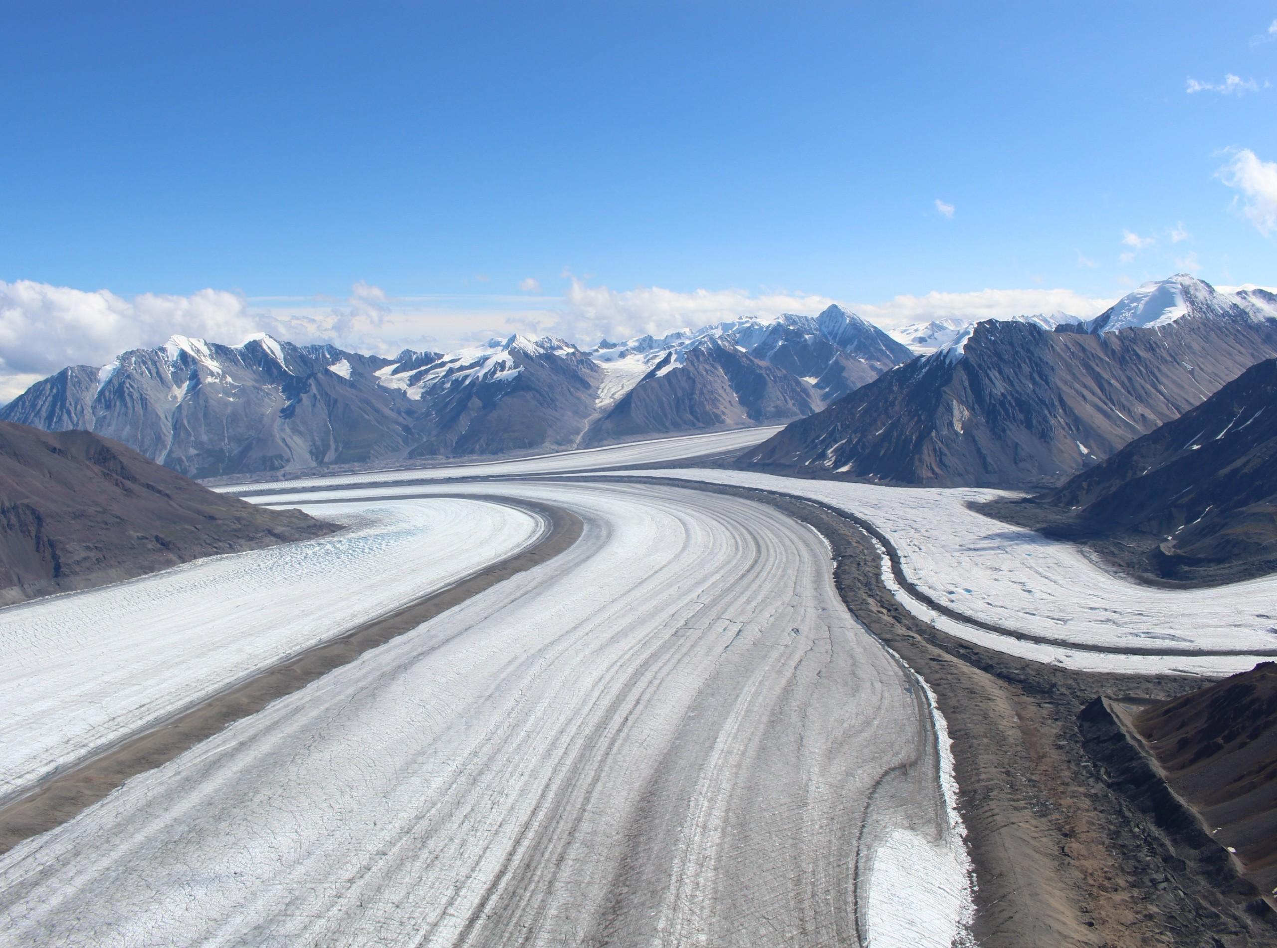 Glacier in Kluane