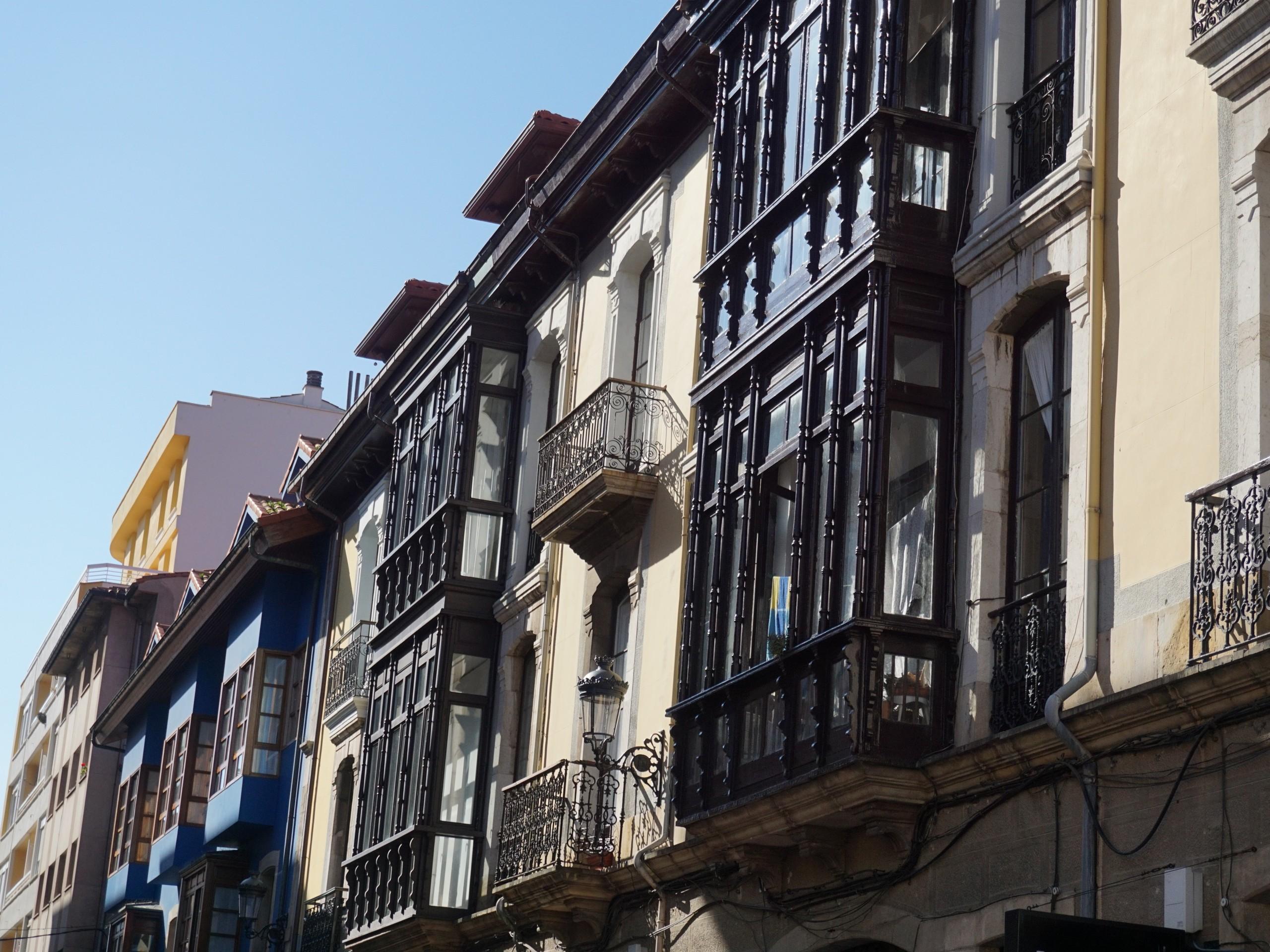 Buldings at Asturias