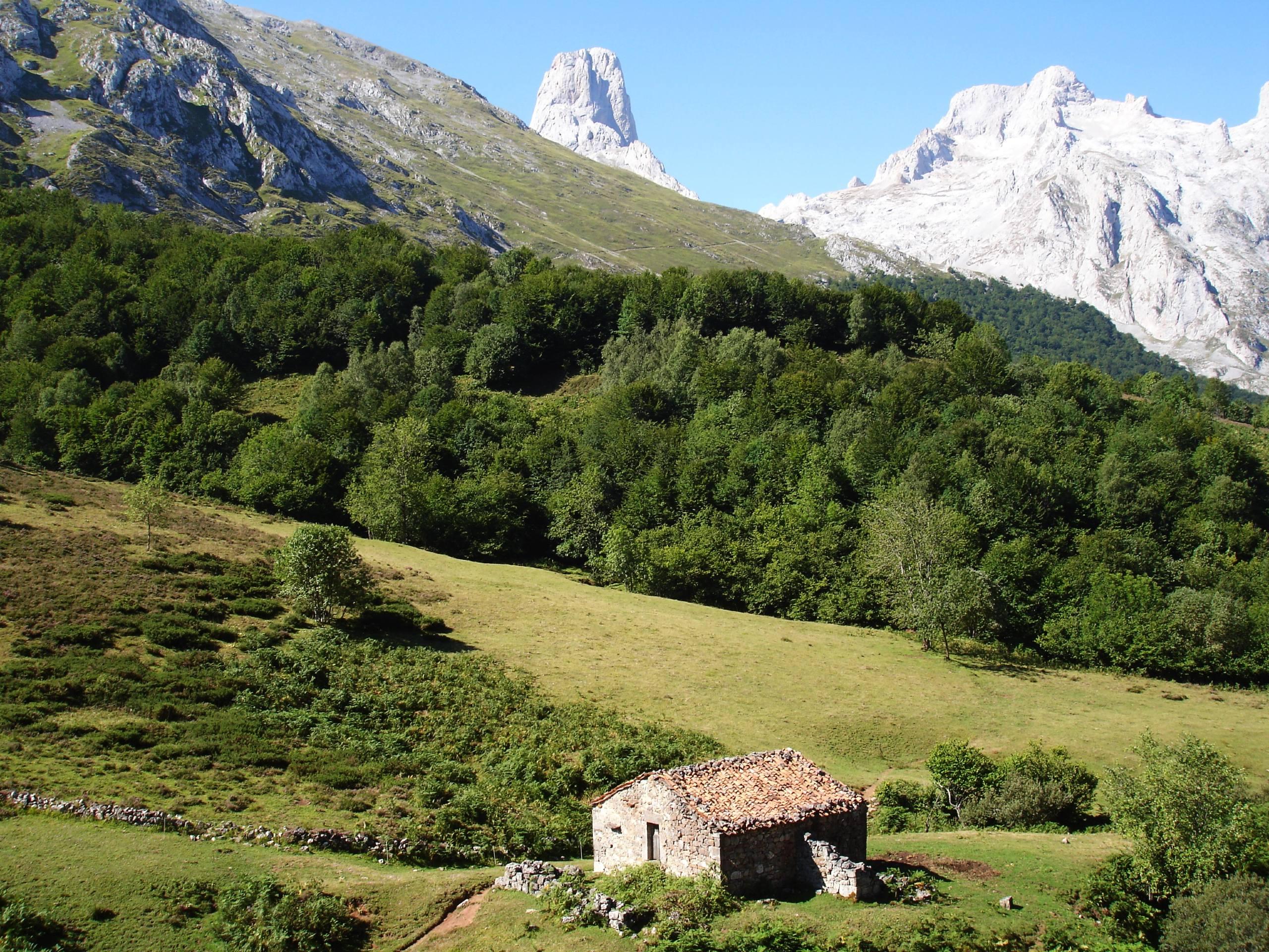 Mountain views near Urriellu & Cottage