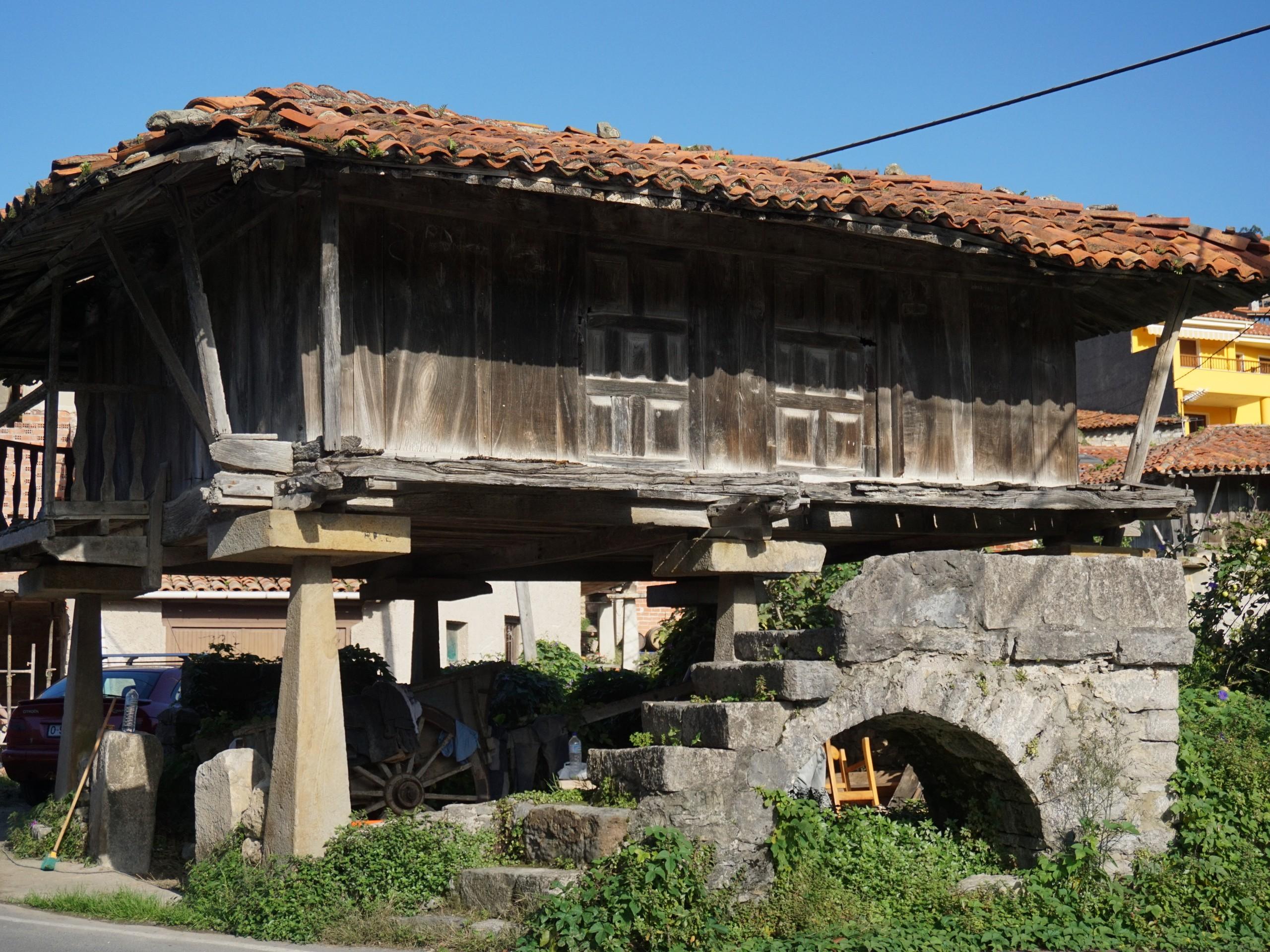 Old buildings at Asturias
