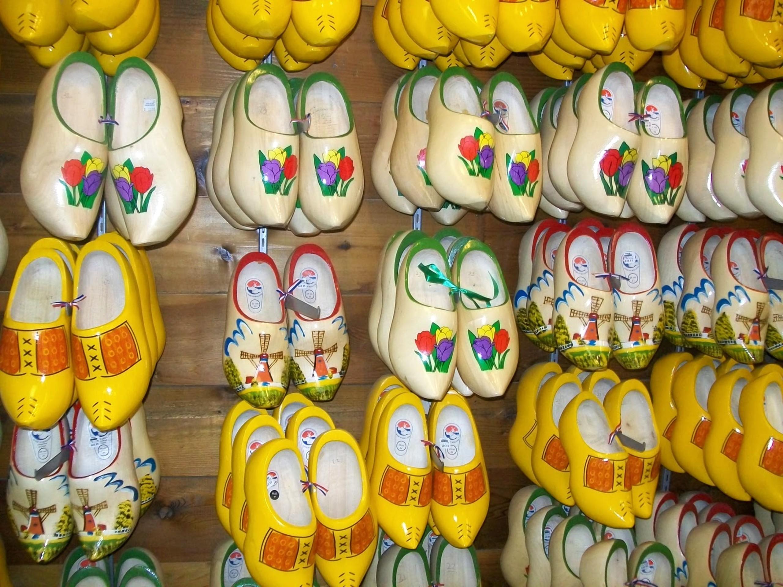 Wooden shoes Volendam