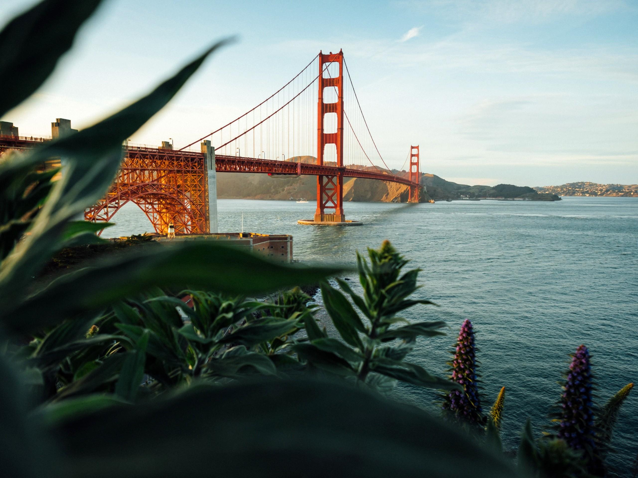 Golden Gates Bridge in San Francisco (California)