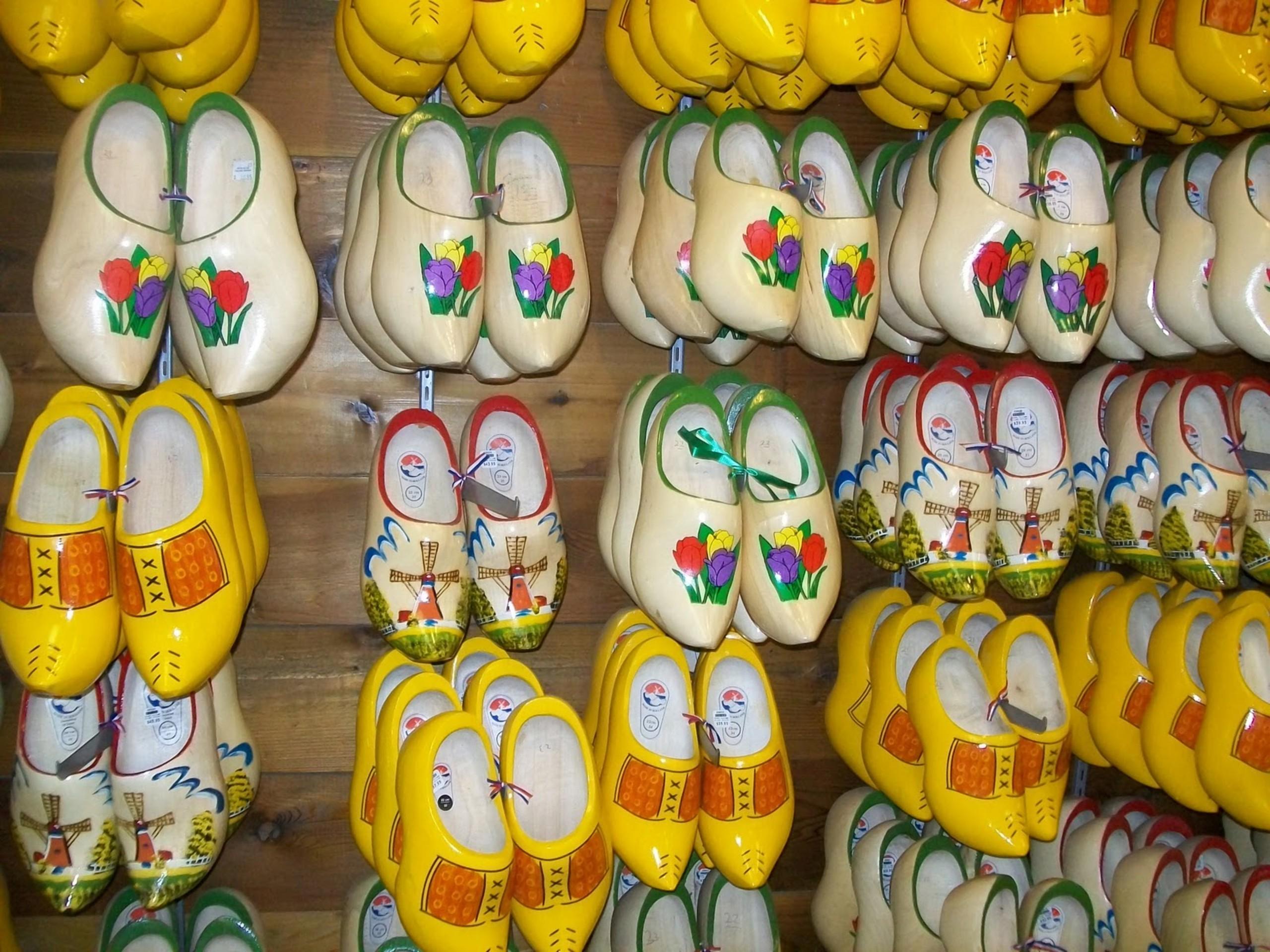 Local art crafts in Holland