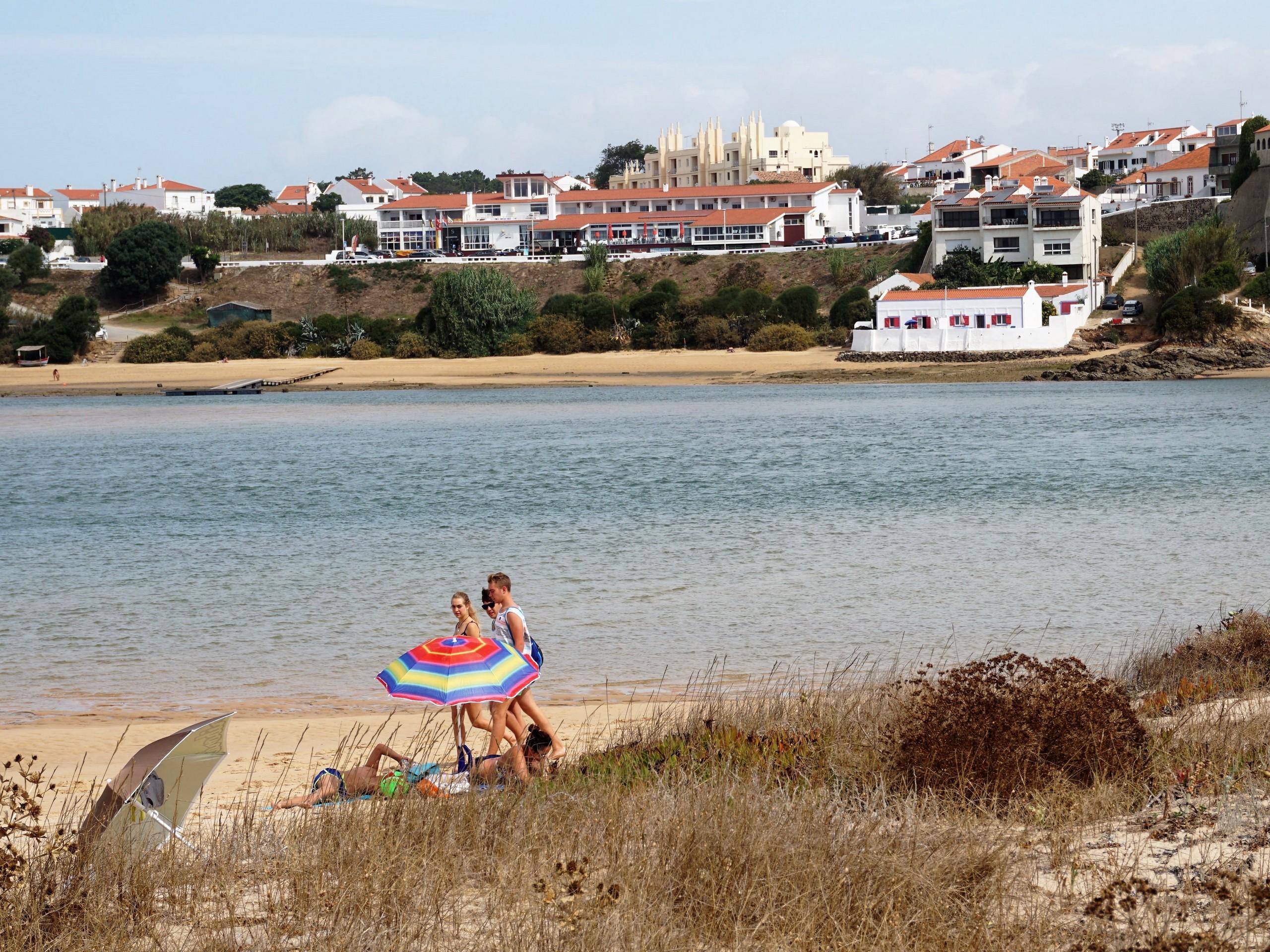 Vilanova beach in Portugal